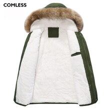 COMLESS Plus Size XXXL 4XL Unisex Winter Lovers Casual Jacket Hooded High Quality Women Long Coat Zipper Up Women Warm Parka