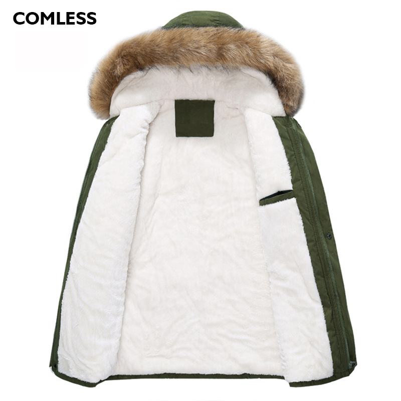 Comless Plus Size Xxxl 4xl Unisex Winter Lovers Casual Jacket Hooded High Quality Women Long Coat