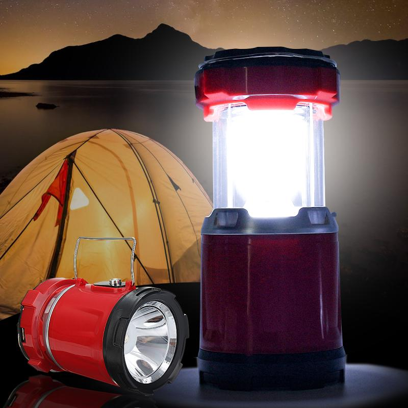 DC 5W Portable Solar Energy chargeable Torch Light Lantern Collapsible LED Light Adjustable Camping Emergency Outdoor Tent light