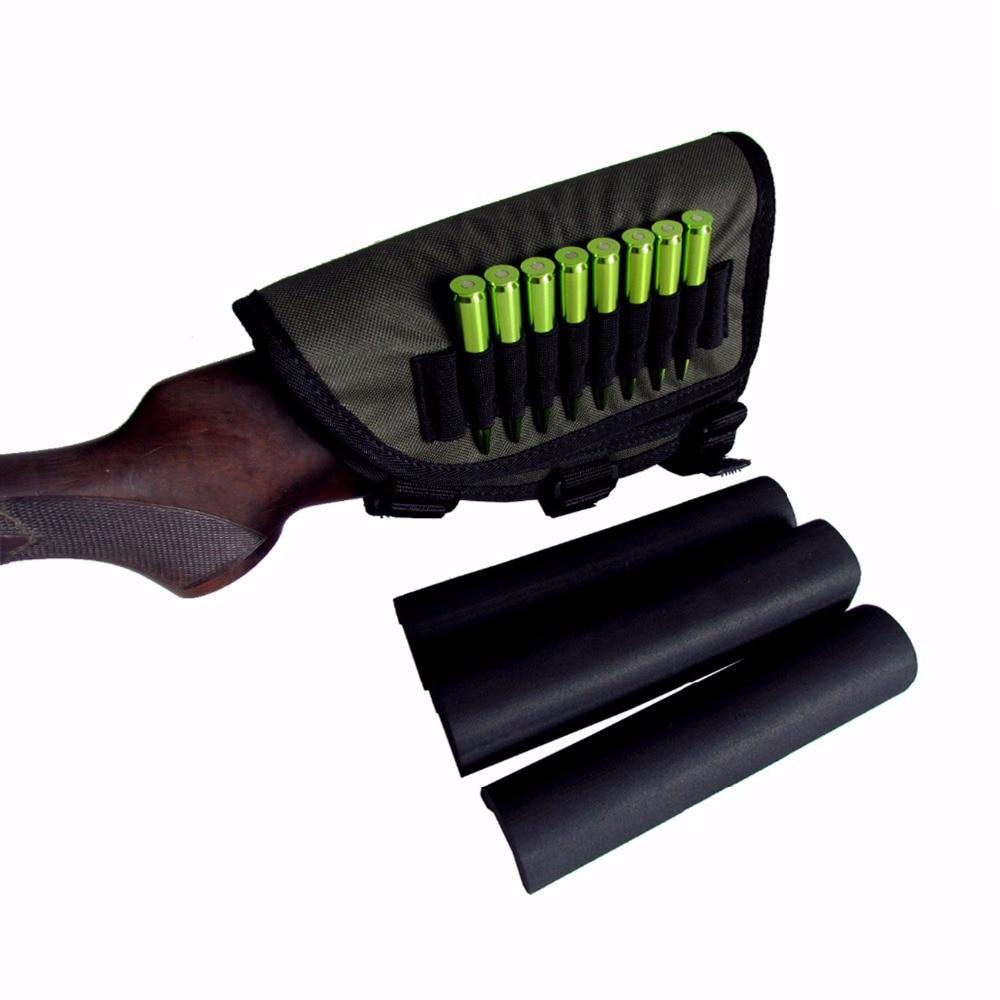 Tourbon Gun Stock mejilla Pieza Con Rifle Escopeta municiones titular de disparo caza//De Regalo