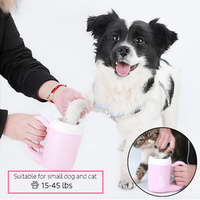 Plunger For Dogs Grooming Paw Cleaner Soft Silicone Feet Washer Portable Dirty Cleaning Cup For Small Medium Pet Cat Accessories