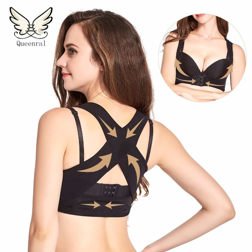 Chest Orthoses Breast Care Gather Adjustable Underwear Body Humpback Rehabilitation Tape Bra Corset Back Corrector Shapers