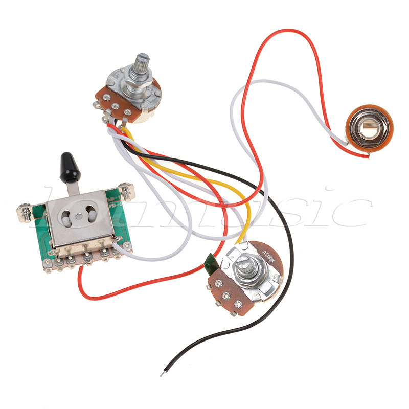 3 pickup guitar wiring 3 image wiring diagram aliexpress com buy kmise 3 pickup guitar wiring harness prewired on 3 pickup guitar wiring
