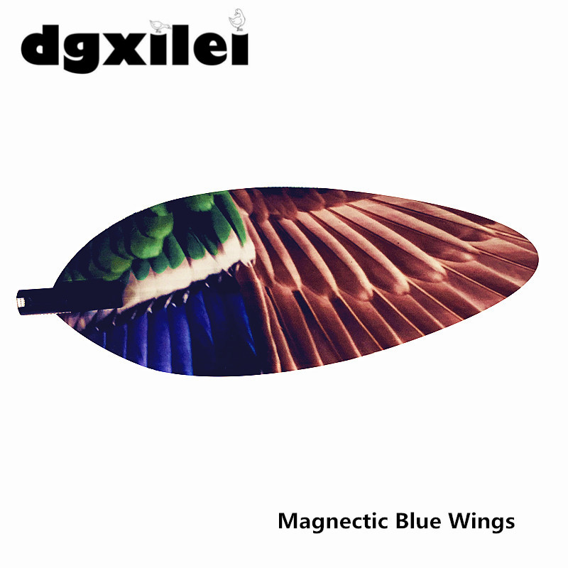 2019 Dgxilei Spinning Wing Teal Duck Decoy Replacement Magnetic Wings Pair Set