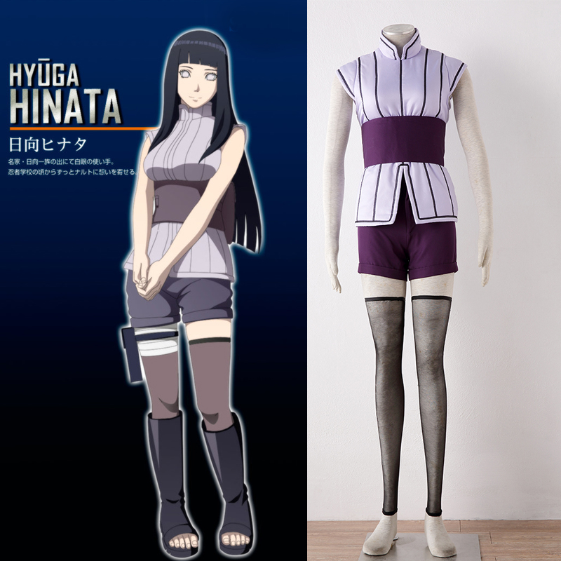 hot anime Cosplay Costume movie the last Naruto Hinata Hyuga cosplay costume sexy Hinata cosplay costume Halloween costumes цена
