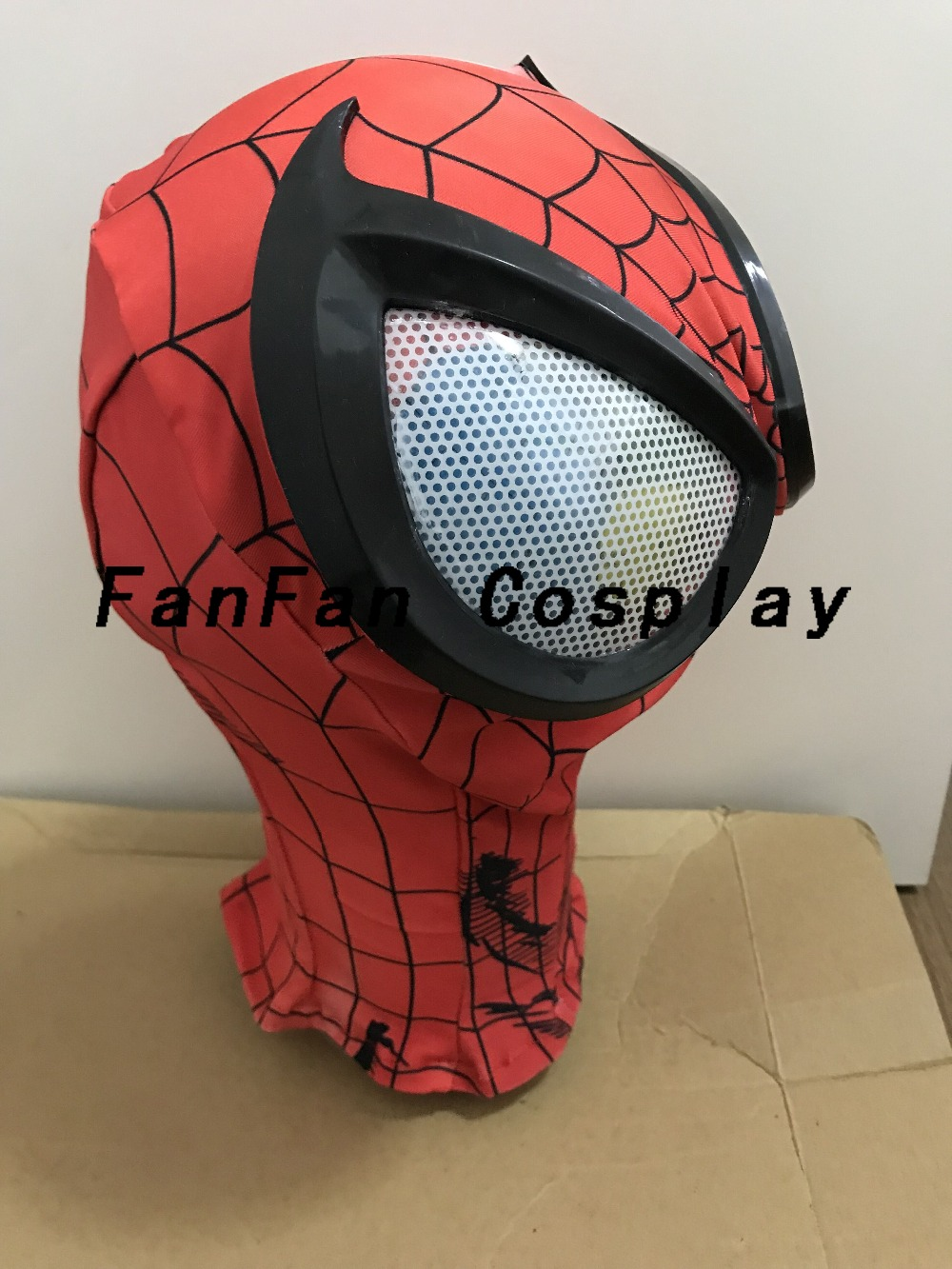 Image 3 - 3D Spiderman Masks Big Spiderman Lenses Spiderman Mask for Halloween Party Costume Props Adult Hot Sale-in Boys Costume Accessories from Novelty & Special Use
