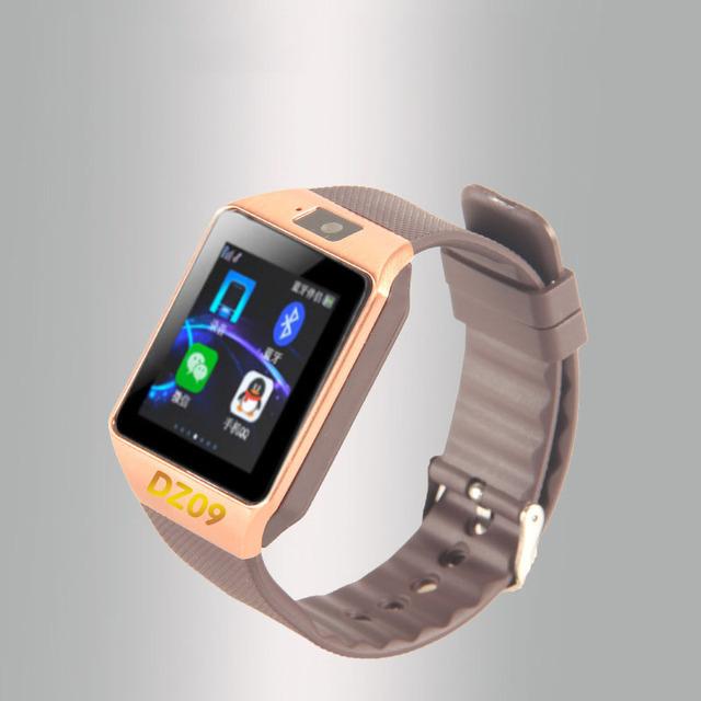 Xinjia hot smart watch dz09 relógio notificador de sincronização suporte sim card tf conectividade android phone homens mulheres smartwatch kt-15