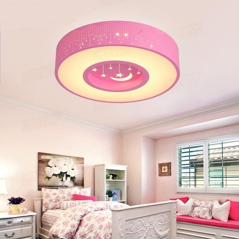 Children room star Ceiling lamps round ceiling led Boy Girl ...