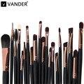 Pincéis de maquiagem 20 Pcs Sombra de Olho Batom Delineador Professional Make up Brush Set Kit de Ferramentas Conjunto de Cosméticos de Maquiagem Para A Mulher