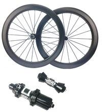 NSW 58 мм Dimple Карбон клинчерное колесо пустотелые колеса Sawtooth Тормозная колесная пара велосипеда DT350s прямой дорожный концентратор 700C