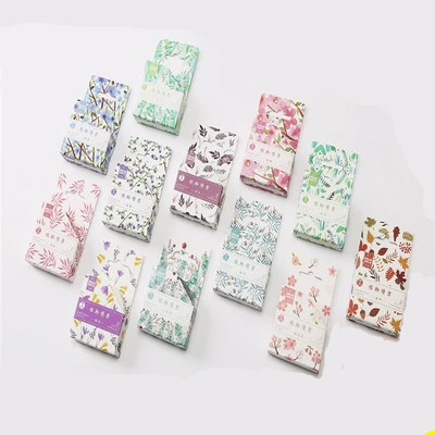 Beautiful Washi Tape Flower Plant Japanese Masking Washi Tape Decorative Adhesive Tape Decora Diy Scrapbooking Sticker Label 1roll 35mmx7m high quality rabbit home pattern japanese washi decorative adhesive tape diy masking paper tape label sticker gift page 8