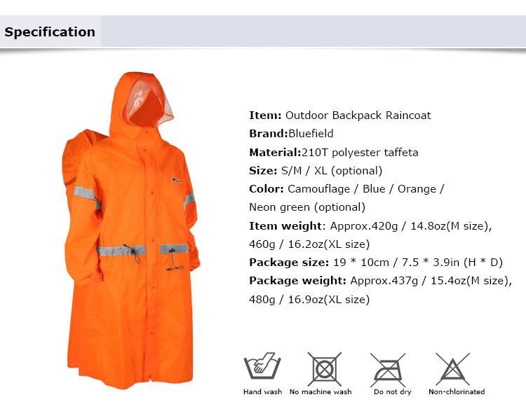 uma peça capa de chuva poncho jaqueta