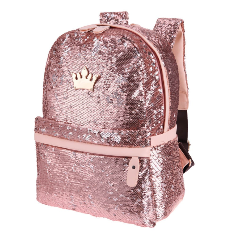 Shining Sequins Backpack Women Sac A Main Travel Small Backbag Leisure Trend School Bags For Teenage Girls Bolsa Feminina