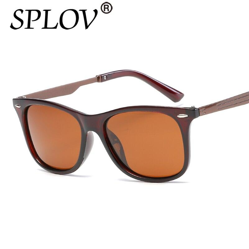 01e5f840cae132 Acheter 2017 SPLOV Nouveau Rivet Hommes Ray Marque Designer TAC Polarisées  femmes lunettes de Soleil Classique