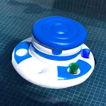 Inflatable Ice Bucket Pool Float Cup Drink Holder Kids Adults Swimming Circle Party Toys Tongs Boia Piscina Beach Accessories
