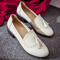 South Korean lovely style comfortable round toe flat women shoes beige black fashion tassel slip-on loafers size 22cm~24.5cm