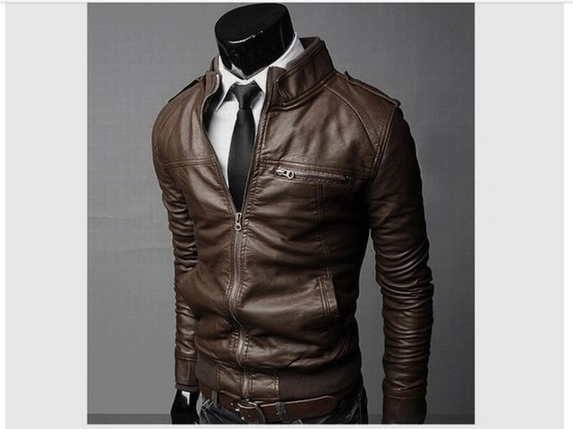 Free shipping!Men's new suit sheep leather jacket man autumn and winter New products Mens Fashion transverse slim leather coats