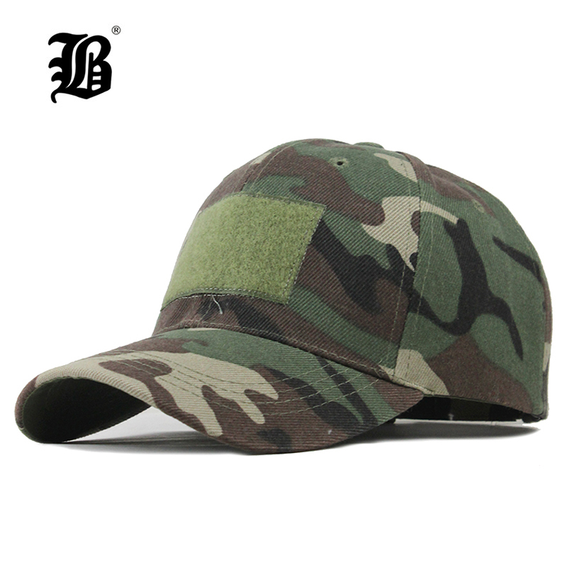 [FLB] Camouflage Baseball Cap Unisex Army Outdoor Quick Dry Done Snapback Camo Fishing Hiking Casual Trucker Dad Cap Hat F305