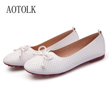 Flats Shoes Women Loafers Brand Butterfly Knot Round Toe Spring Autumn Casual Shoes Soft Breathable Female Sneakers Ladies Shoe недорого