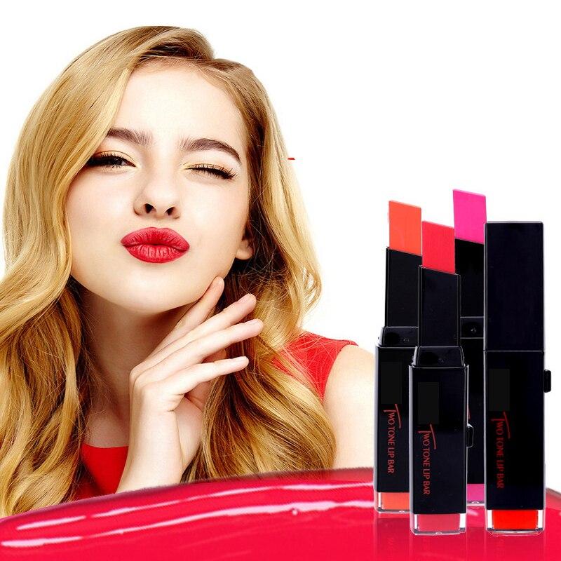 Long Lasting Temptation Beauty Lips Makeup Biting Lip Makeup Moisturizing Hit Lipstick Square Paste 3concept eyes 4 pen style moisturizing lipstick lip gloss pink