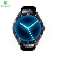 FLOVEME Bluetooth Smart Watch Android 5.1 Support SIM Card GPS Intelligent Wearble Device Sport Wrist Watches Smartwatch Relogio