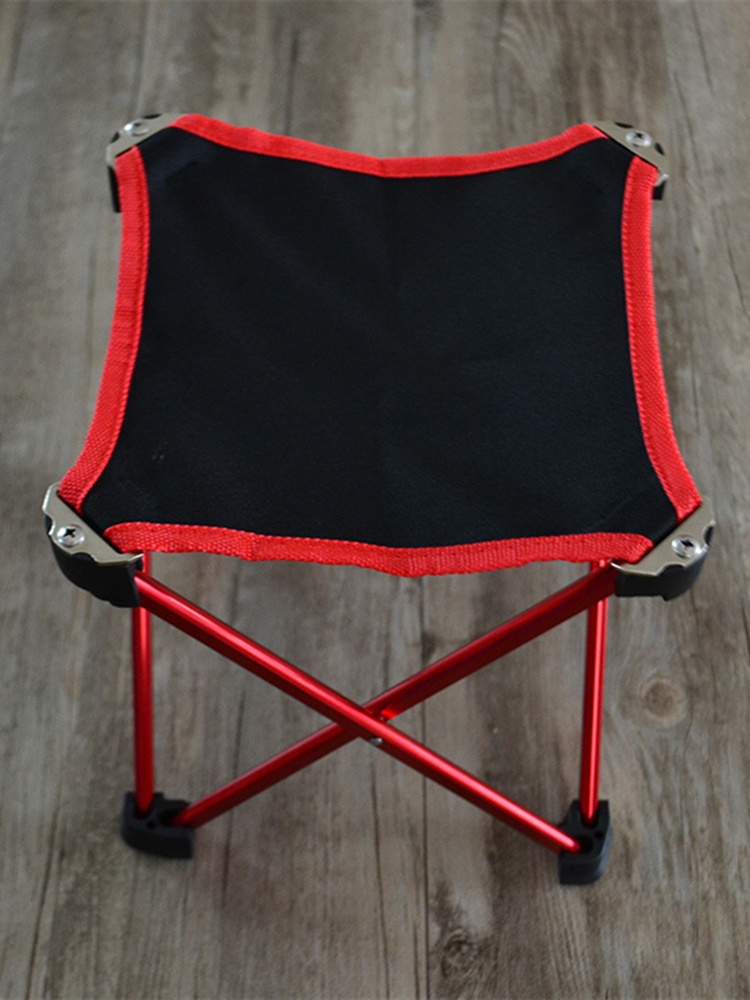 Image 5 - VILEAD 4 Colors Folding Portable Picnic Chair Aluminum Camping BBQ Beach Fishing Outdoor Seat Ultralight Folding Hard 20*20*20cm-in Camping Stools from Sports & Entertainment
