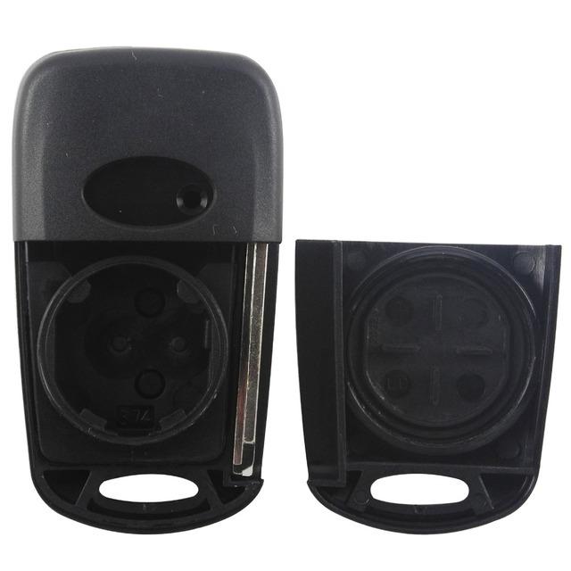 jingyuqin Car Remote Flip Key Shell 3 Button For Hyundai Avante Accent I30 IX35 Folding Key Case Blank Cover