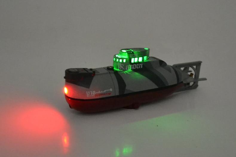 Germany U16 Submarine 6 Channels Rc Submarine Electric Mini