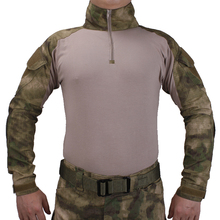 Tactische Bdu A TACS/Fg Shirts Militaire Actie Camouflage T shirt Militaire Rol Playing Game Ghillie Suits
