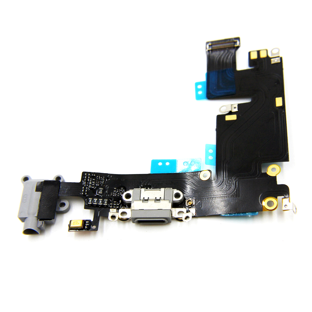 10pcs/lot New Original Charging Port Dock Connector & Headphone Jack Audio Flex Cable for iPhone 6 Plus 5.5 White/Black10pcs/lot New Original Charging Port Dock Connector & Headphone Jack Audio Flex Cable for iPhone 6 Plus 5.5 White/Black