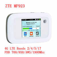 Sbloccato ZTE MF923 4G Mobile Hotspot con slot per SIM card 150Mbps 4g router wifi portatile 4g wifi portatile 3g 4g router 150m mf915