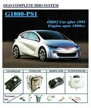 OGO Complète HHO système G1800-PS1 Smart PWM dynamique EFIE puce jusqu'à 1800CC