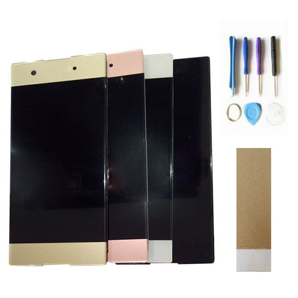 For <font><b>Sony</b></font> Xperia XA1 G3116 G3121 <font><b>G3112</b></font> <font><b>LCD</b></font> Display With Touch Sensor Screen Digitizer Black White Gold Pink Color With Tools Tape image