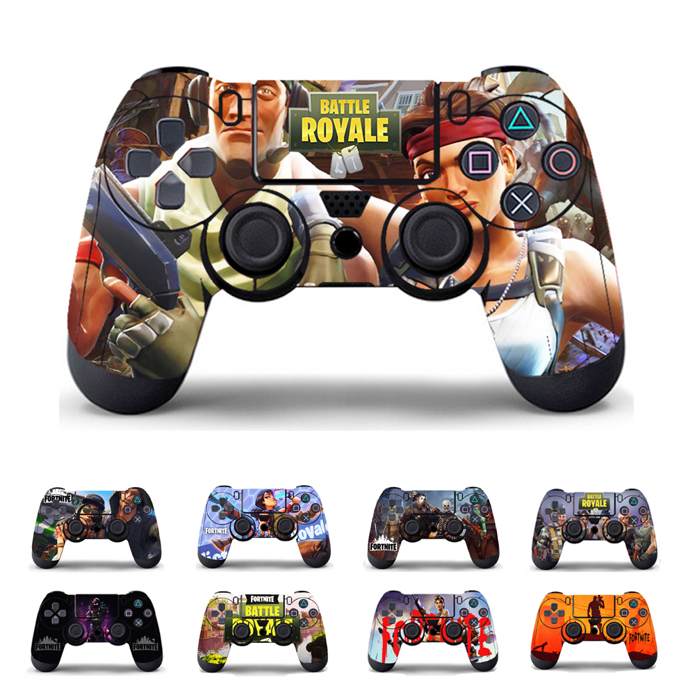 все цены на Sticker Skin For Sony PS4 Controller Vinyl Cover For PlayStation 4 Joypad Game Decal Accessories онлайн