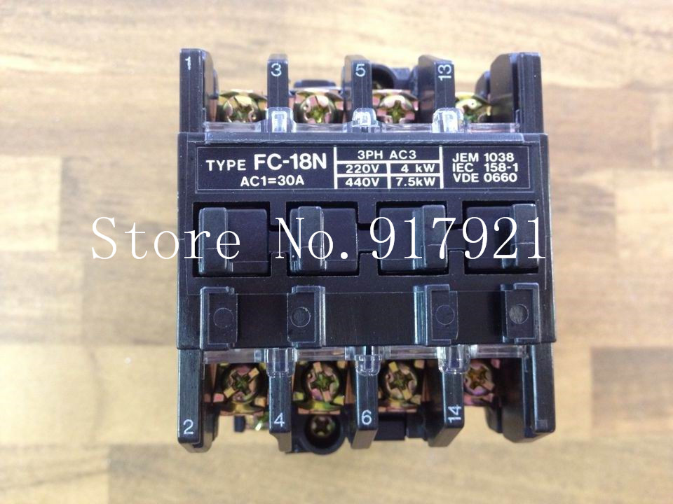 [ZOB] Japan's original FC-18N BMF61831N AC110V 30A contactor standard original authentic --2pcs/lot [zob] berker brocade 75162773 double button panel eib knx lighting original authentic 2pcs lot