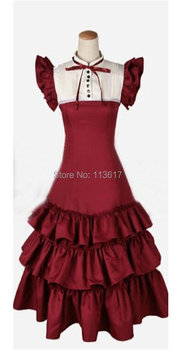 Axis Powers Hetalia Lolita Cosplay Costume APH uniform party dress