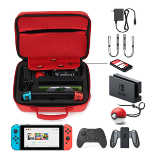 Image 5 - Hand Bag for Nintend Switch Travel Carrying Box Protective Case for Nintendo Switch NS Console Pokeball Game Accessories Storage