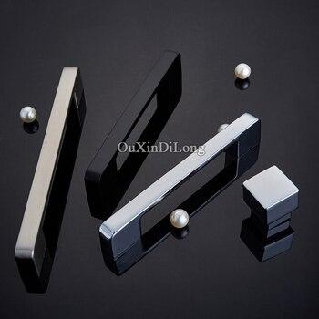 Elegant 10PCS Zinc Alloy European Cabinet Handles Cupboard Wardrobe Drawer Cabinet Kitchen Door Pulls Furniture Handles & Knobs