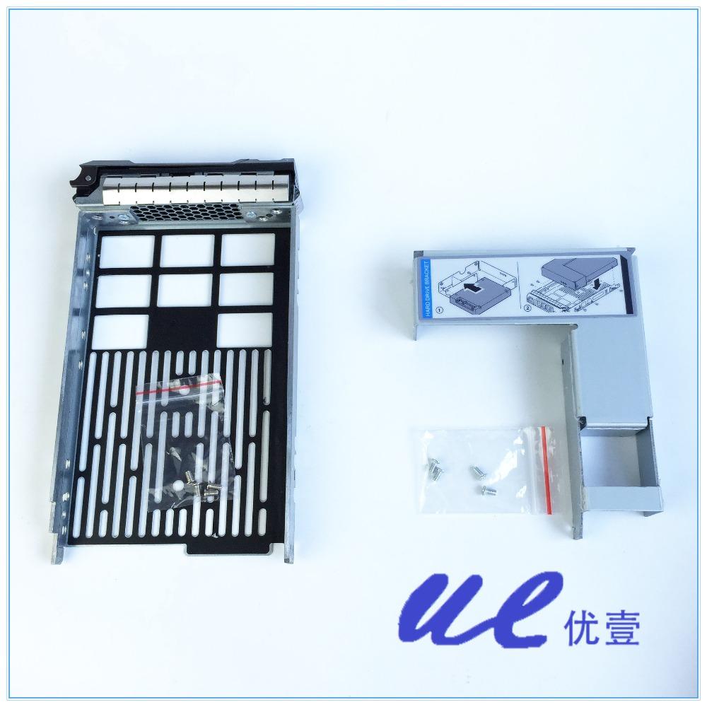 "3.5 ""лоток кэдди с 2.5"" адаптер кронштейн 9w8c4 y004g дисков f238f, бесплатная доставка"