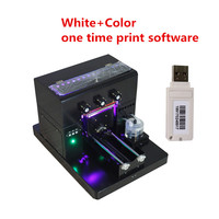 New upgrade A4 Uv Printer For Pvc Id Card ,Phone Case with Emboss Effect printer with CE