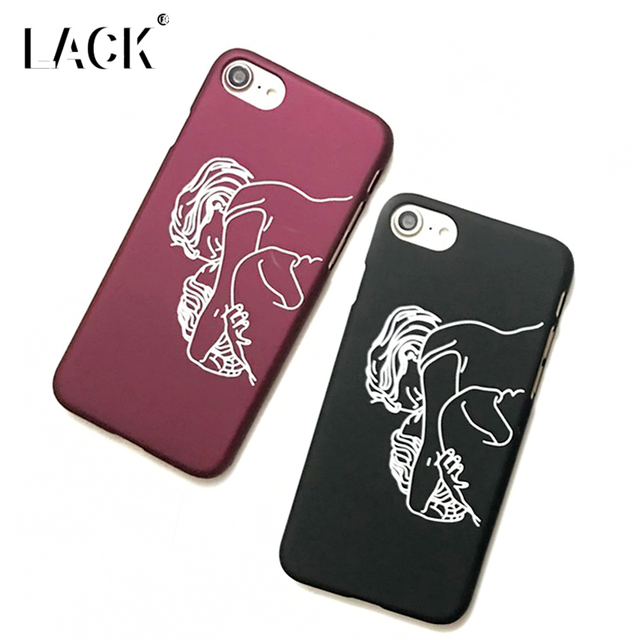 LACK Art Case For iphone 6 Case Funny Abstract Line ...