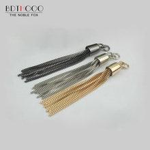 BDTHOOO 10 шт./лот, багажные сумки, аксессуары, металлический брелок для сумок, маленькие украшения, кисточки, пряжки для сумок, фурнитура, запчасти
