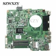 Стильный ноутбук материнская плата для HP 15-N 15T-N 737982-501 737982-001 аккумулятор большой емкости W/ i3-3217U процессор DA0U81MB6C0 HM76 DDR3