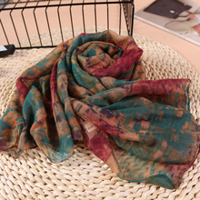 Charming Cotton Voile Polyester Scarves Solid Warm Autumn And Winter Scarf Shawl Printed