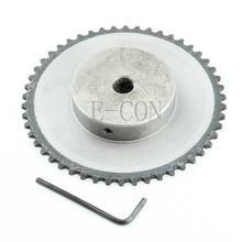 1 шт. 10 мм диаметр 50 зубьев 50 т Металл пилот мотор шестерни роликовый цепной привод звездочки