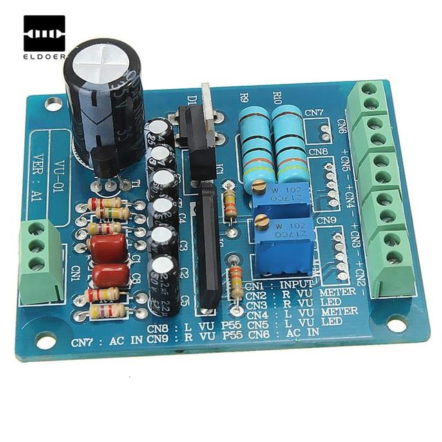 Schema Elettrico Driver Led : New ac 12v stereo vu meter driver board amplifier db audio level