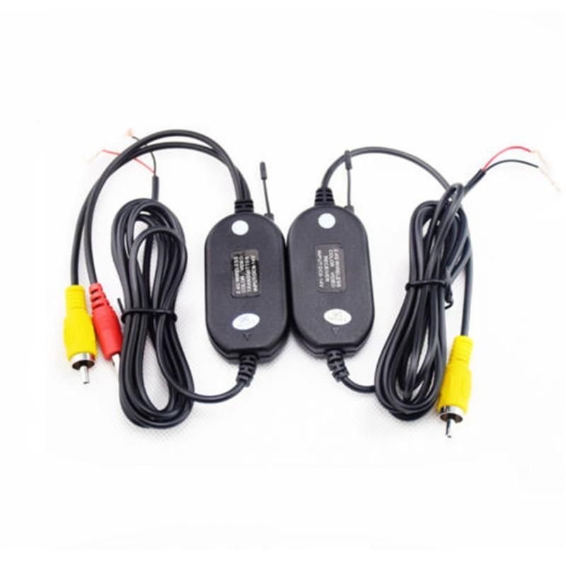 Wireless Transmitter Receiver For Car Reverse Rear View Camera Monitor 2.4GHZ niorfnio portable 0 6w fm transmitter mp3 broadcast radio transmitter for car meeting tour guide y4409b