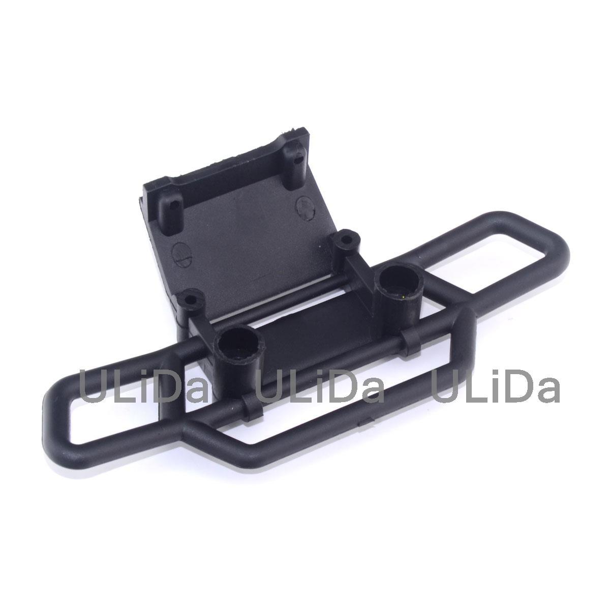 Perfeclan 1//10 RC Nitrol Car 08002 Front Bumper Beam Black for HSP 94111 Accessories