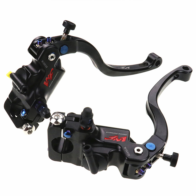 Motorcycle Brake Master Cylinder Brake Lever Pump Racing Quality 16x18mm Universal 7/8 For Honda Yamaha Kawasaki Suzuki ModifyMotorcycle Brake Master Cylinder Brake Lever Pump Racing Quality 16x18mm Universal 7/8 For Honda Yamaha Kawasaki Suzuki Modify