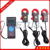 ETCR8300B 3900 sets Recorder true RMS 0.00mA 20A digital ammeter with Three Channel AC Leakage Current Measurement Meter